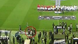 Fanoušci řádili na fotbale v Řecku