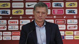 Zápas s Brnem byl poslední kapkou, žádná hádka v kabině nebyla, říká o odchodu trenéra Stramaccioniho Zdeněk Ščasný.