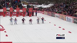 Johannes Hösflot Klaebo a Maiken Caspersen Fallaová ovládli sprinty v Drammenu.