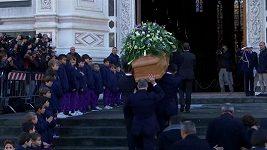 Pohřeb kapitána Fiorentiny Astoriho