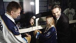 Při otevření Síně slávy kladenského hokeje se vzpomínalo na Jágrovy úplné začátky