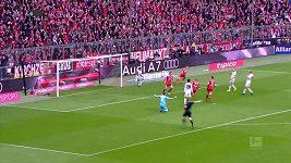 Bayern proti Hamburku rozjel kanonádu