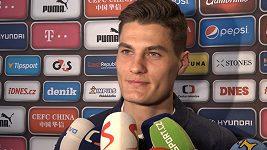 Patrik Schick doufá, že mu výkony v reprezentaci pomůžou v AS Řím