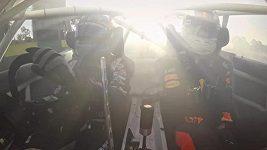 Daniel Ricciardo si zadriftoval v Albert Parku