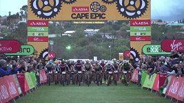 Sestřih 4. etapy závodu Cape Epic.
