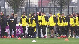 Bolt na tréninku Dortmundu