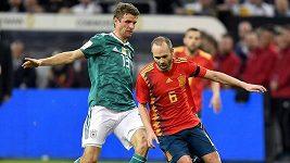 Německo remizovalo v přípravě se Španělskem