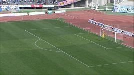 Krásný gól ve 2. japonské lize