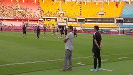 Ital Fabio Capello v Číně dotrénoval
