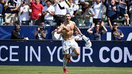 Snový debut Zlatana Ibrahimoviče v Los Angeles Galaxy.
