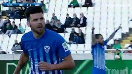 Michal Ďuriš vstřelil za Famagustu dva góly