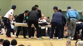 Boj o záchranu života při japonském zápase sumo