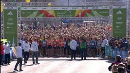 Keňan vyhrál v Berlíně půlmaratón pátým nejrychlejším časem všech dob