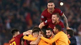 Sestřih zápasu AS Řím - Barcelona