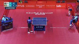 Jedenáctiletá stolní tenistka senzačně porazila dospělou soupeřku