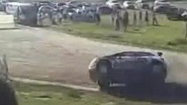 Nalbandian havaroval při rallye