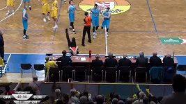 Faul basketbalisty Olomoucka