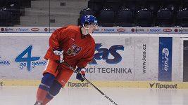 K hokejové reprezentaci se připojili i osmnáctiletí mladíci, třeba útočník Filip Chytil