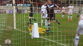 Jankův gól do sítě Sionu