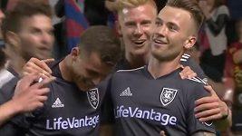 Krásný gól Alberta Rusnáka v MLS