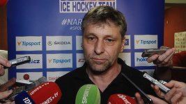 Trenér Josef Jandač o zraněných hráčích národního týmu
