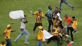 Nepokoje fanoušků v Durbanu
