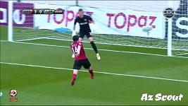 Parádní gól z Premier League v Ázerbájdžánu