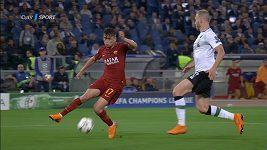 Sestřih utkání Ligy mistrů AS Řím - Liverpool
