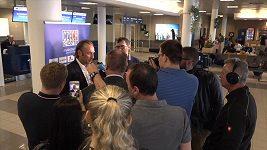 Odlet české hokejové reprezentace