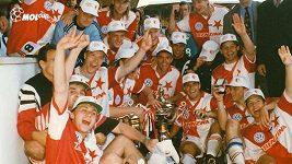 Pavel Řehák vzpomíná na vítězství Slavie v poháru