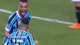 Parádní gól v brazilské lize