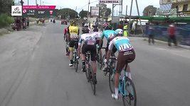 Sestřih 8. etapy závodu Giro d´Italia
