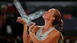 Petra Kvitová vyhrála turnaj v Madridu