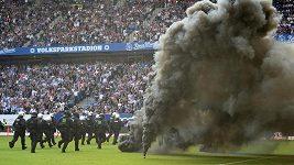 Fotbalisté Hamburku poprvé v historii sestoupili z bundesligy