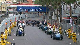 V Monaku se konala Grand Prix historických vozů