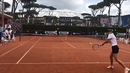 Maria Šarapovová si v Římě zatrénovala s Rafaelem Nadalem