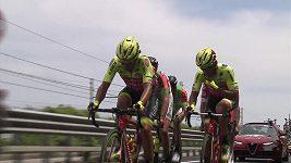 Sestřih 12. etapy Giro d´Italia