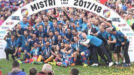 Plzeň slaví titul a těší se na skupinu Ligy mistrů