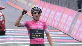 Simon Yates ovládl 15. etapu Gira a navýšil vedení