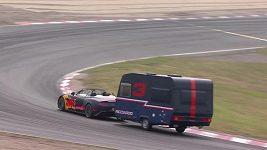 Hvězdy formule 1 si vyzkoušely netradiční závod