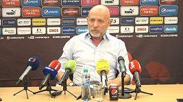 Trenér Karel Jarolím vysvětluje, proč na přípravu v Rakousku nominoval menší počet hráčů
