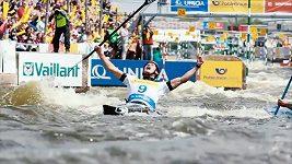 Ondřej Tunka v hlavní roli upoutávky ME ve vodním slalomu