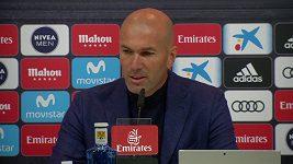 Zinedine Zidane vysvětluje důvody, proč skončil v Realu Madrid