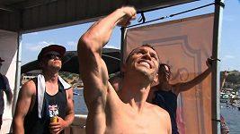 Michal Navrátil byl na RB Cliff Diving v Texasu druhý