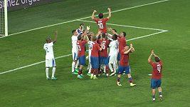 Rosického penalta nadvakrát a další góly z druhé půle