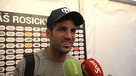 Je jedním z nejlepších lidí, co jsme potkali, říkají o Tomáši Rosickém Nuri Sahin a Cesc Fábregas