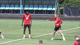 Fotbalová Sparta zahájila přípravu na novou sezónu. Nechyběli útočník Tetteh a brankář Heča