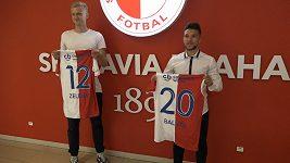 Fotbalová Slavia hlásí dvě nové posily a slibuje další