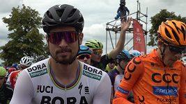 Jak si Peter Sagan dojel v Plzni pro jasné vítězství
