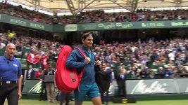 Čorič ve finále překvapil Federera
